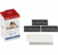 High quality compatible Canon Selphy KP-108IN Photo paper 3 sets CP1300 Photo printer ribbon
