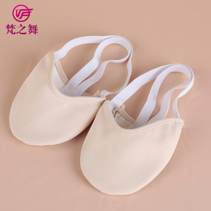X-8065 Wonderful design women half sole ballet or belly dance shoes