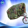 custom plastic rain protection two and three wheel Oxford Silver Bicycle seat cover