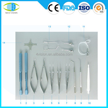 Instrument Set for Small Incision Cataract Surgery