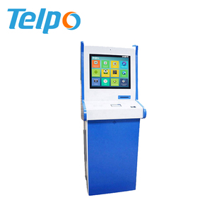 Low Cost Cashless Bills Payment Terminal Ticket Printing Kiosk For franchise