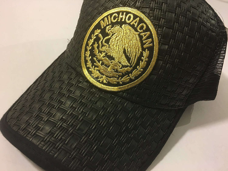 Buy GORRA FEDERAL MICHOACAN. GORRA VAQUERA. GORRA CHARRA. HAT. CAP ... 3d94ff4d96a