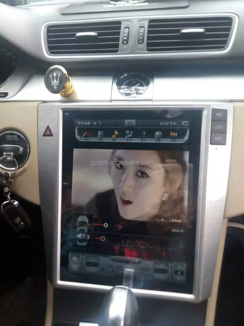 10.4 inch android car dvd player for Volkswagen VW Magotan passat CC tesla screen style vertical screen quad core 32G WS-1049S
