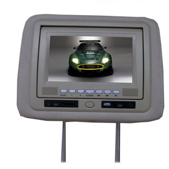 7 Inch TFT LCD169 Headrest Dvd Player With TV System