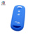 AS076009 Silicone Car Key Cover FOB Case For Mazda 3 Buttons Key