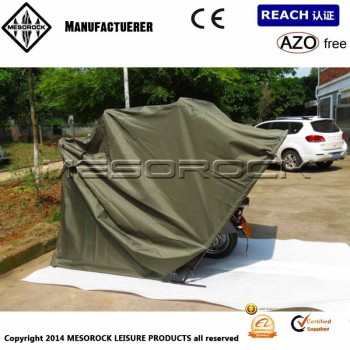 Folding motorsport motorcycle trike cover garage shelter - Motorcycle foldable garage tent cover ...