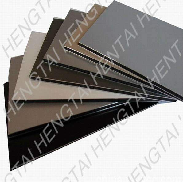 Railway passenger car's interior decoration material ACPC for wall/side wall panel
