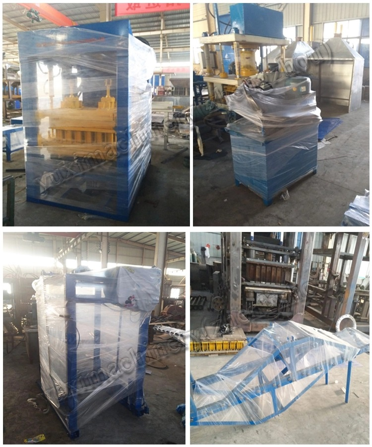 YUXI Machines Fabricage Volautomatische Cement Pave Road Baksteen Blok Maken Machines Hot Koop in Dubai