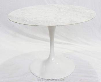 Eero Saarinen Round Tulip Marble Dining Table