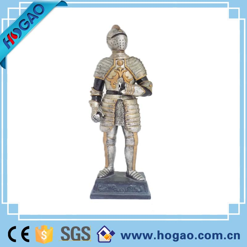 Wholesale 2016 new product polyresin ancient warrior,small resin solider figurines