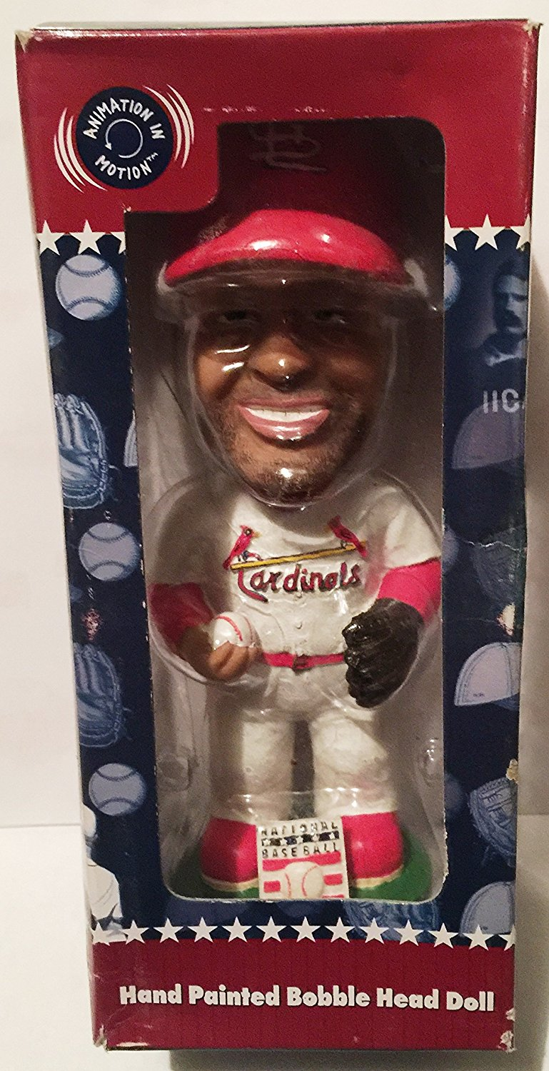 Ozzie Smith #1 Bobblehead Hall of Fame Cooperstown Collection AGP Cooperstown Collection