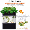Plastic fiberglass aquarium acrylic fish water tank Vertical Garden Farming Aquaponics Hydroponic Easy to manage and clean