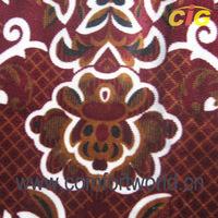 polyester velvet sofa upholstery fabric for 140cm width