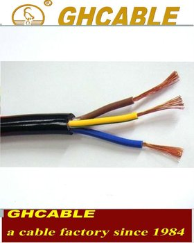CE ISO SAA SASO CCC Standard Electrical Wire Used In House Or Machine Tools