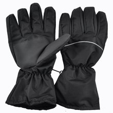 Practical battery electric heated gloves for outdoor winter sports