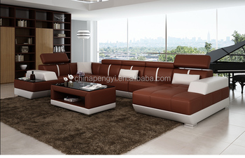 Fashionable Round Shape Modern New Design Corner Sofa,Corner Sofa ...