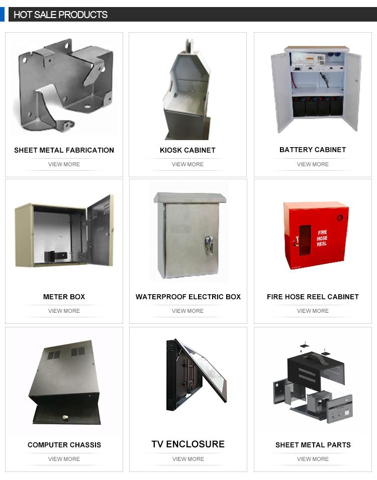 Custom stainless steel sheet metal fabrication part