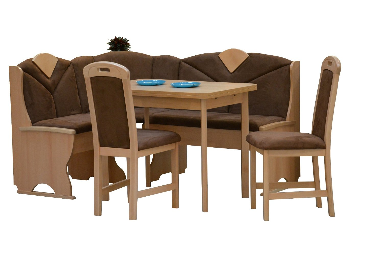 Attrayant Get Quotations · German Furniture Warehouse 4 Piece Breakfast Nook, Modern  Dining Set, Kitchen Nook Corner Sets