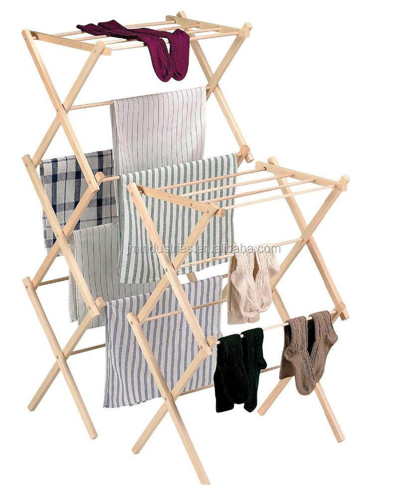 wall mounted folding clothes drying rack/lift laundry drying rack