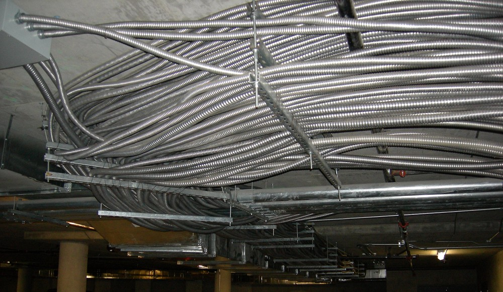 pvc coated gi flexible conduit with wire