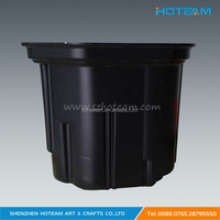 Black ABS Vacuum Forming Plastic Chemical Tank