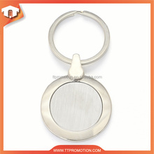 hot sale & high quality 1euro coin keychains with carabiner fitting OEM