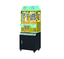 2017 candy slot machine arcade games for sale doll coin pusher machine for kids