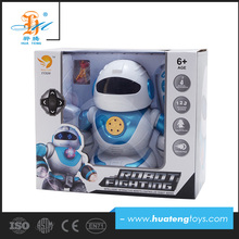 hot new products 4ch infrared rc battery operated toy robot for kids
