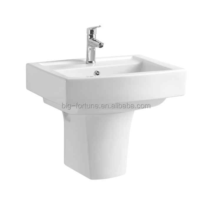 wall hung pedestal washing basin for children