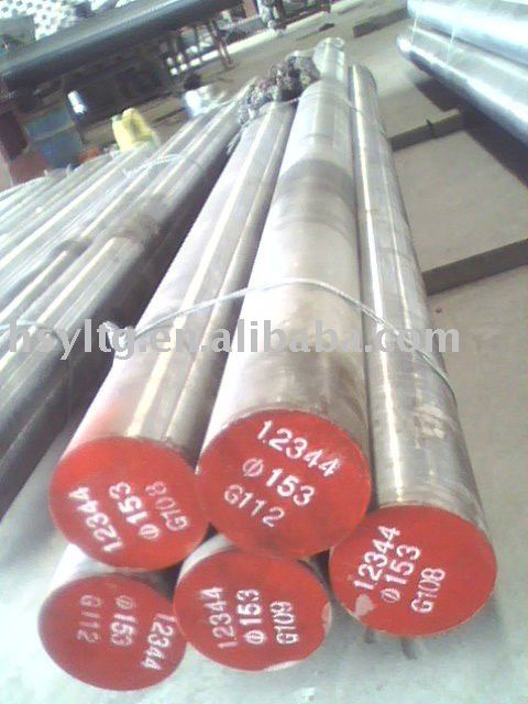 H13/1.2344/SKD61 hot-worked tool steel,material for hot extrusion dies,mandrel,,etc.60-400mm,MOQ:10m/t