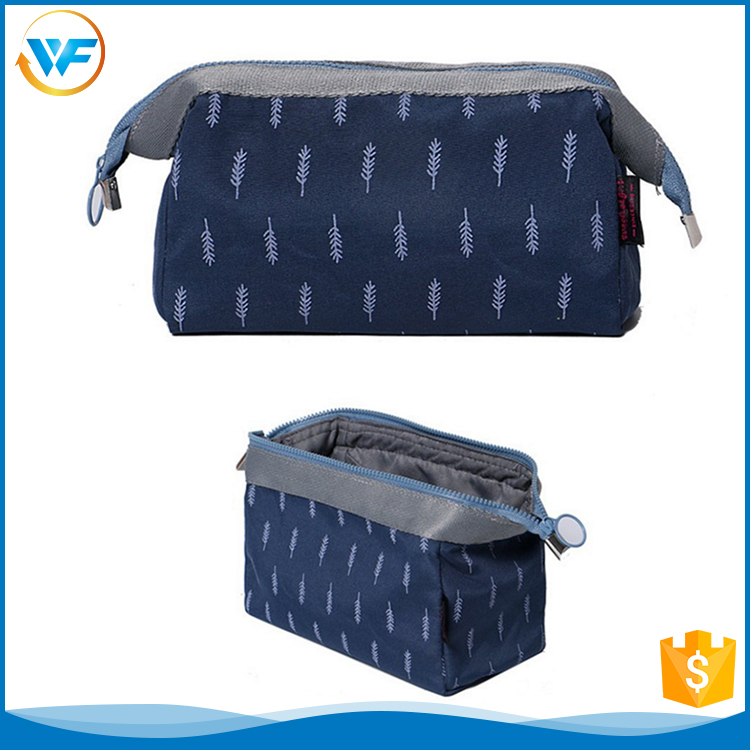 Luxury Small Travel Zipper Cosmetic Bag For Man