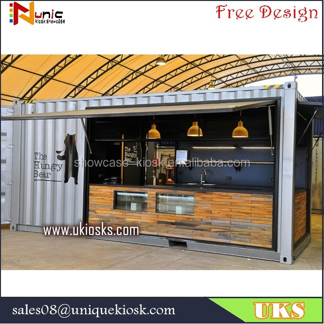 Shipping Container Bag Shop: Mobile Container Coffee Shop