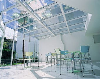 Tempered Glass Roofing Panels