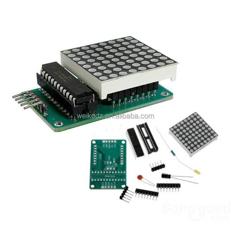 MAX7219 Module DIY kits dot matrix display FOR Arduino