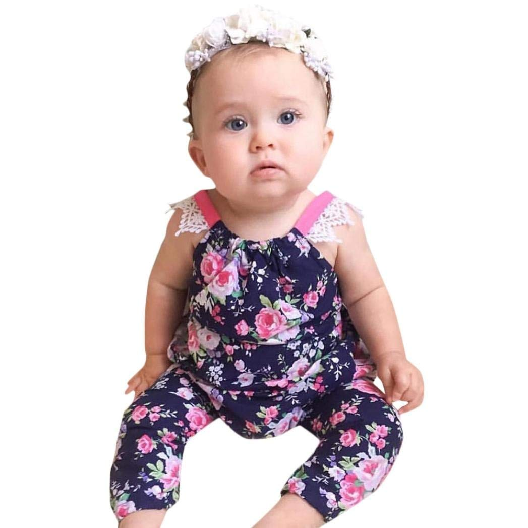 17d8ac65fd36 Cheap Girls Floral Jumpsuit