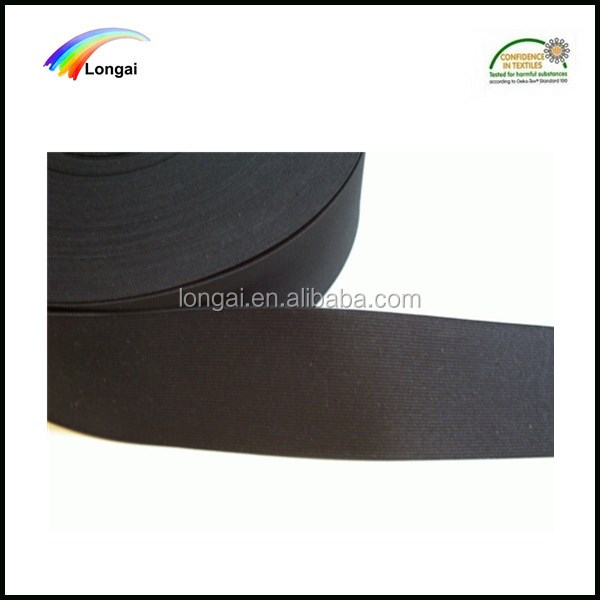 free samples strong 40mm width elastic webbing tape for garment/bag/shoes