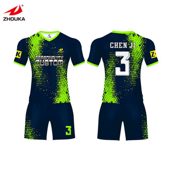 fde9daed7f3 2019 new wholesale youth soccer uniforms sublimation football soccer uniform  jersey custom football uniform