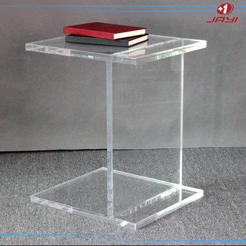 Durchsichtigen Kunststoff Ende Tische Modernen Plexiglas Couchtisch