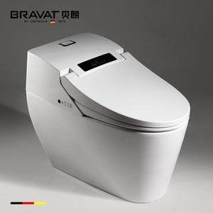 Chinese integrated electronicI siphon jet flushing smart toilet for sale C21144XUW