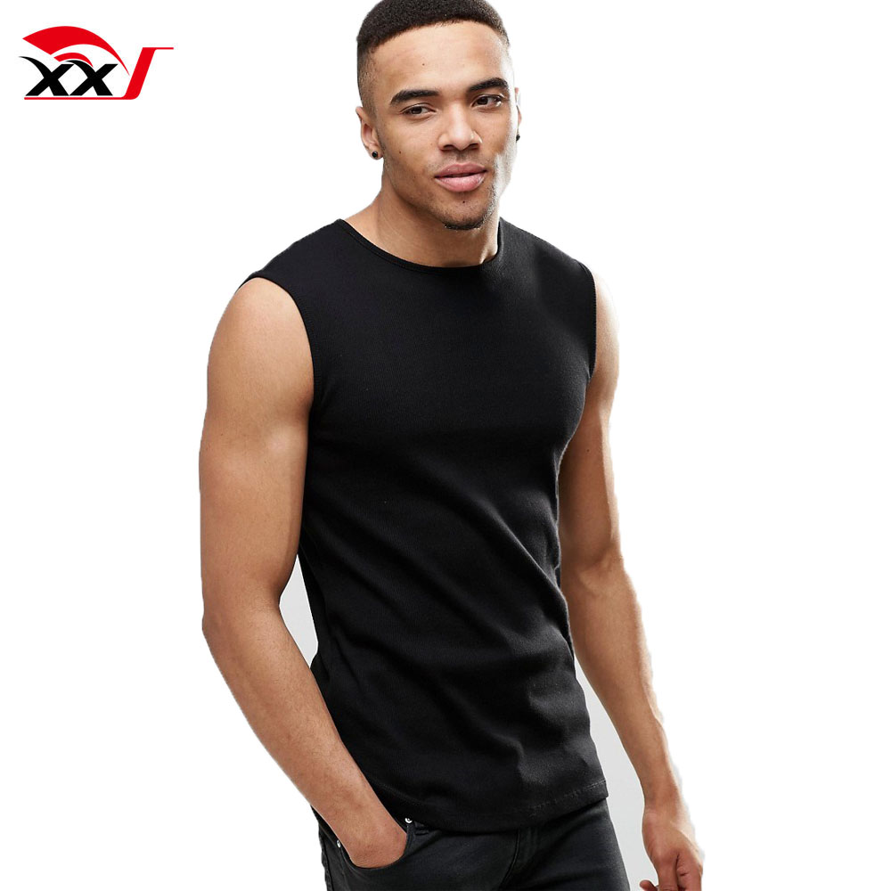 Custom Gym Wear Men Blank Dri Fit Sleeveless T Shirts Wholesale 65