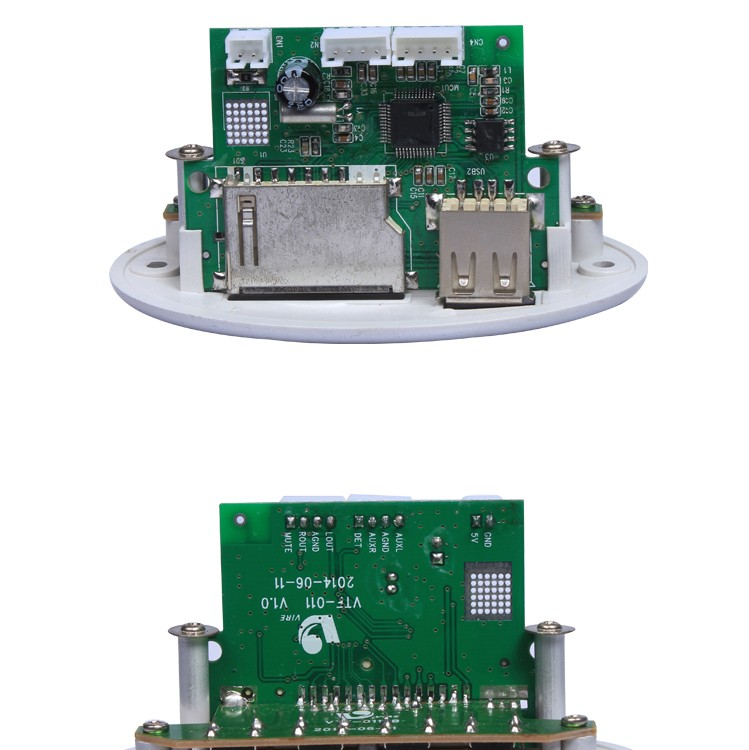 Radio Mp3 Pcb Double Sided Printed Circuit Board Active Speaker ...