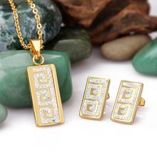 china por mayor de moda de diamantes redondos juegos de joyera