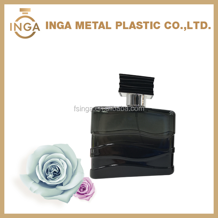 100ml China Manufactured Black Color Empty Bottle Of Imported Perfume For Gift