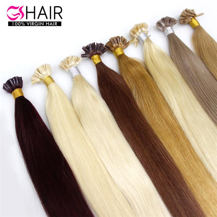 China Virgin U Tip Hair Extension China Virgin U Tip Hair Extension
