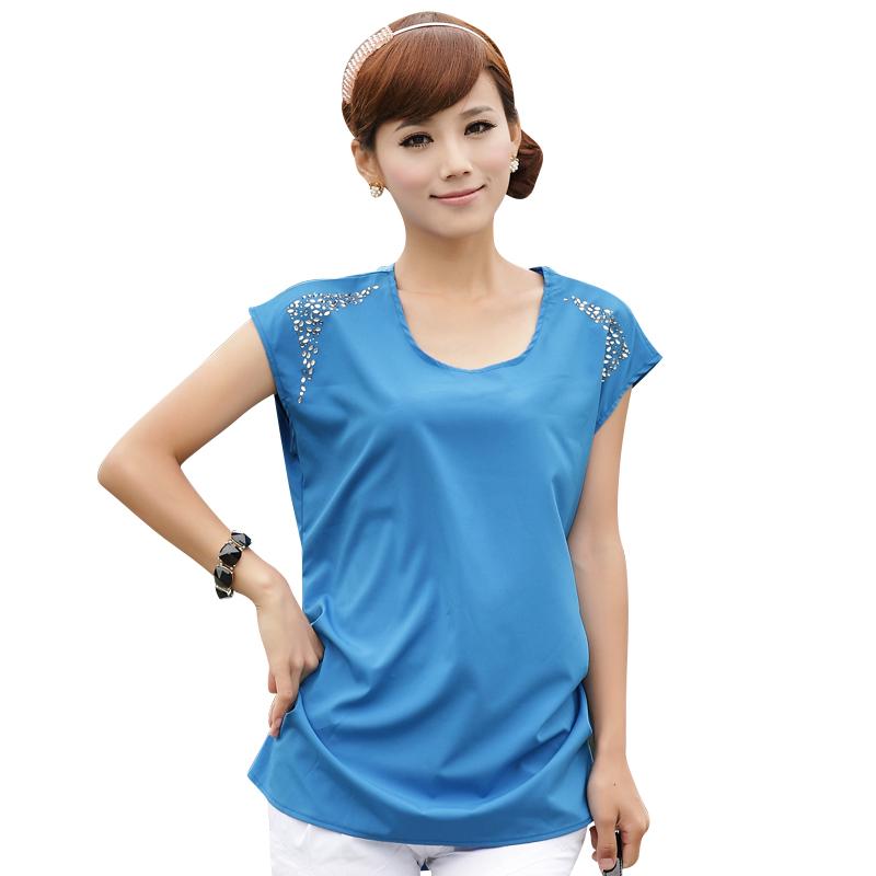 d9758cdb12a ... breastfeeding tshirt yes. l... Get Quotations · Large Size S-3XL Korean Maternity  Lady Loose Fashion Tops 2015 Orignal Hot Drill Design