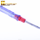 Popular small 2 way screwdriver transparent ABS handle 2 in 1 screwdriver with factory price