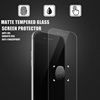 2016 Anti-Fingerprint 0.2MM+2.5D tempered glass matte screen protective film for iPhone 6s Plus