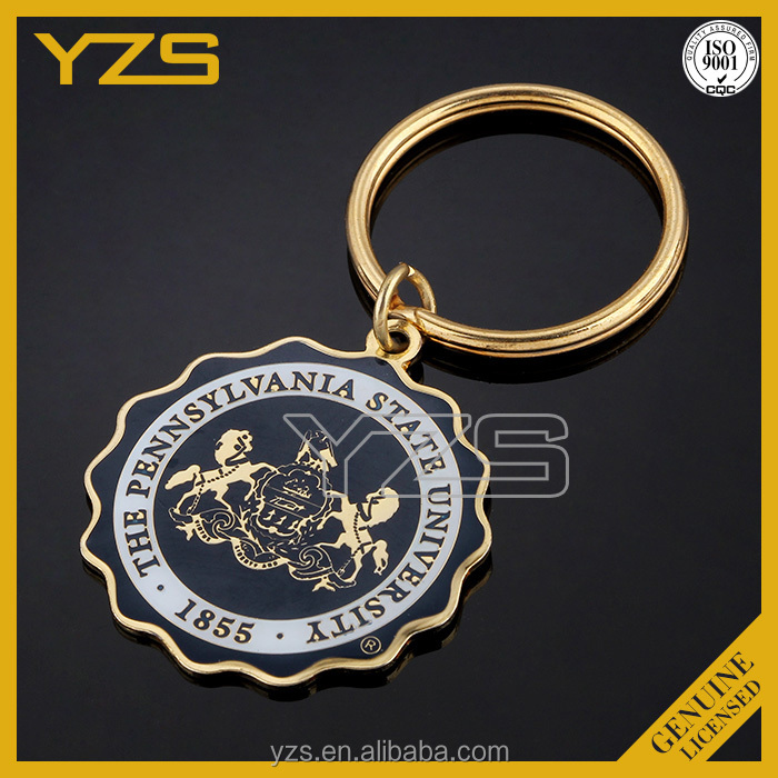 key chains of new products /customized Christmas metal decorations
