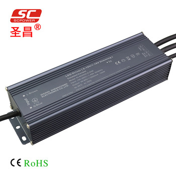 0-10V 1-10V Constant Current 90-140V IP67 150W 1050mA PWM Dimmable LED Driver
