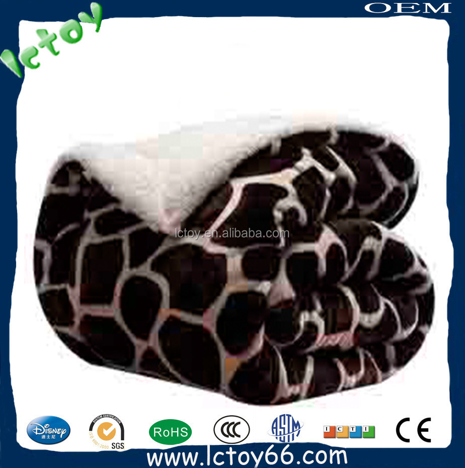 mink baby blanket made in china factory